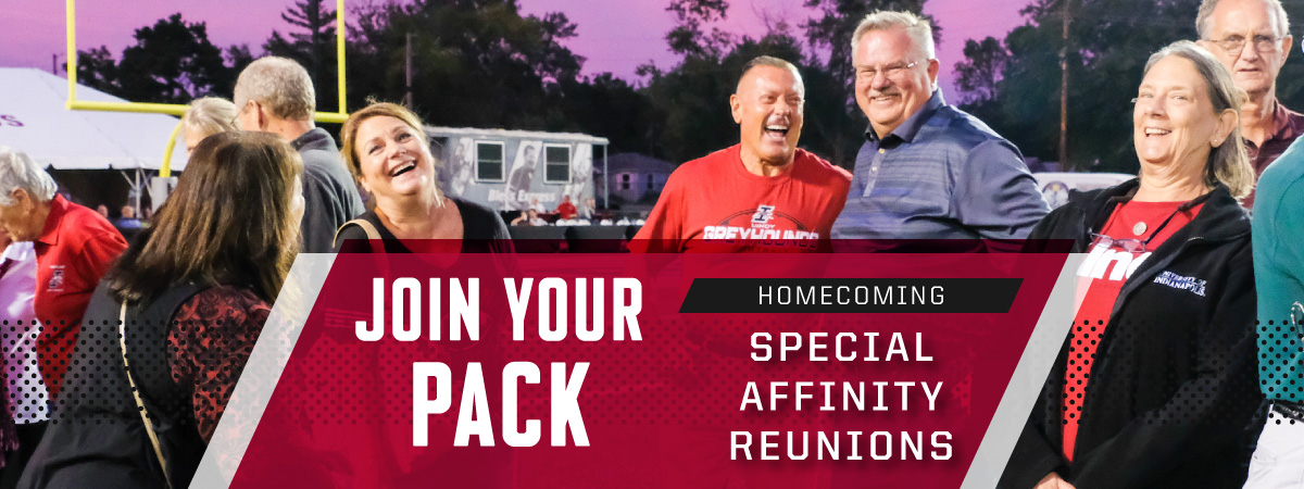 Join your pack: homecoming special affinity reunions